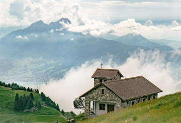 Farming & sawmilling in the Swiss Alps